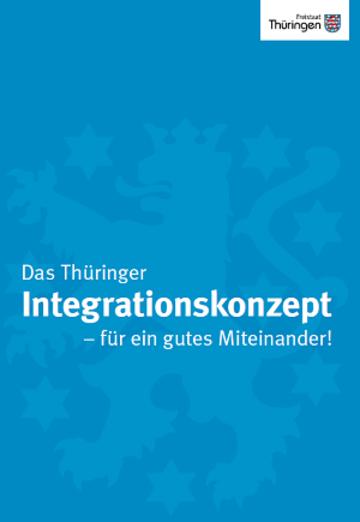 Titelbild Thüringer Integrationskonzept 2017