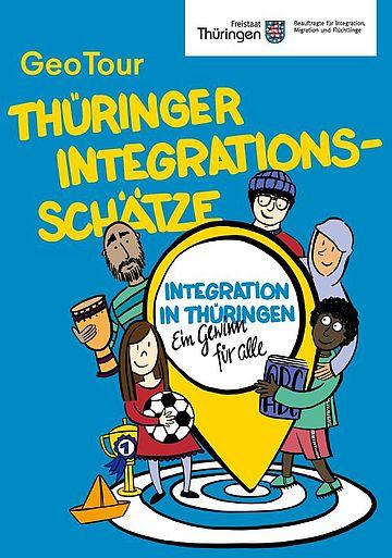 """Bildausschnitt Geo Tour 2020 """"Thüringer Integrationsschätze"""""""