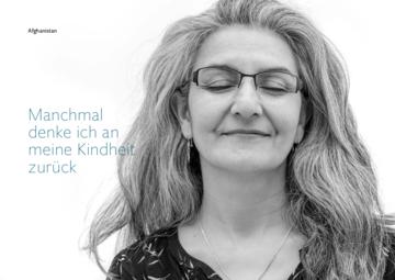 Profilbild Zarghona Naim mit Link zum Bildband HEIMAT