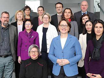 Gruppenbild Integrationsbeauftragte Bund und Länder