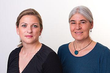 Bild Christine Sommer und Anja Flaig
