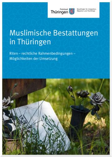 Titelbild Muslimische Bestattungen Grab