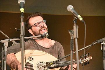 Musiker am Instrument