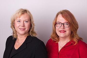 Bild Annett Roswora und Marina Schönthal