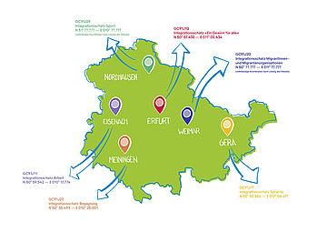 Geo Tour Kartenübersicht