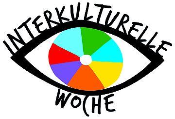Logo Interkulturelle Woche_Auge Bunt